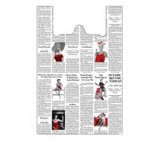 Пакет Газета №1 - 25*50 см | 20*100шт/уп