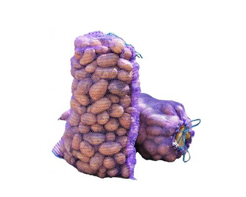 Сетка овощная Фиолетовая 45*75 см. на 30 кг.
