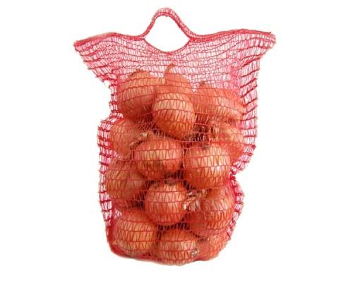 Сетка овощная Красная 25*39 см на 5 кг