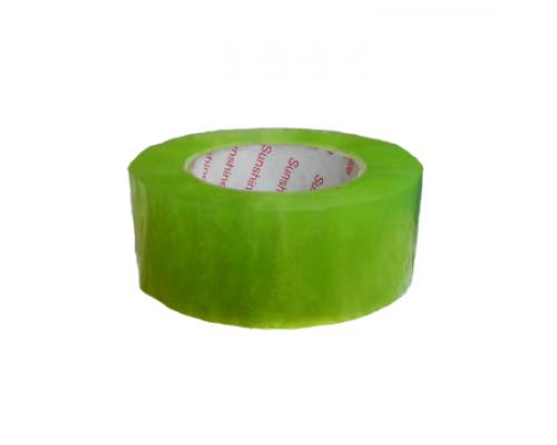 Скотч прозрачно-зеленый 500 м  М5-5