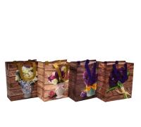 Сумка для покупок 29*27*12 см Клетка, Мишки, Цветы Box-2